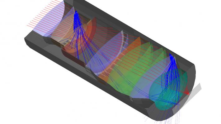 強化された迷光分析とユーザー記録HOE